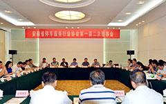 安徽省停车服务行业协会首先届二次理事会